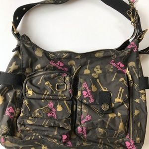 Betsey Johnson bag with charms